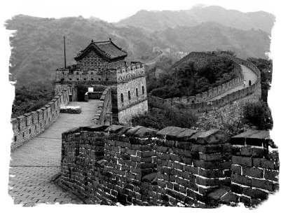 China - Great Wall at Mutianyu
