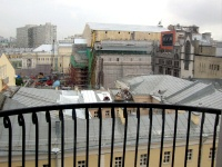 Moscow Scenes - Hotel Room View - Bolshoy Theatre Restoration